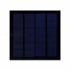 JEDX Monocrystalline Silicon Solar Panel 1.5W 6V - Blue + Black