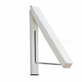 BSTUO percha de pared retráctil percha de ropa interior mágico plegable de secado estante impermeable toalla toallero
