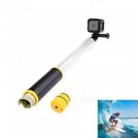 Ismartdigi IG-T4Waterpro Bobber Pole Handheld Monopod w/ Tripod Mount Adapter for Gopro Hero 2 3 3+ 4 Session 5 6 SJ4000 - Black