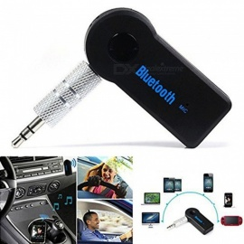 ESAMACT 3.5 MM Jack  de Áudio Receptor de Música Do Bluetooth Car Kit Wireless Speaker Adaptador De Fone de ouvido Mãos Livres