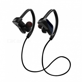 Wireless Bluetooth Earphone Sports Ear Hook Headphone Waterproof Level IPX7 Magnetic With Mic Earphone For Mobile Phone