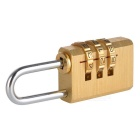 Brass Combination Pad-lock