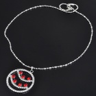 Elegant Crystal Alloy Round Shaped Pendant Necklace