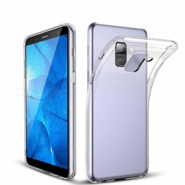 Naxtop TPU Ultra-thin Soft case for Samsung Galaxy A6 (2018) - Transparent