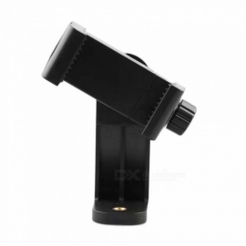 Universal Tripod Mount Adapter Cell Phone Holder Clipper Vertical 360 Rotation Tripod Stand