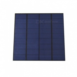 JEDX Polysilicon Solar Panel 3W 9V - Blue + Black