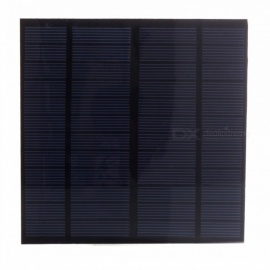 JEDX Polysilicon Solar Panel 3W 12V - Blue + Black