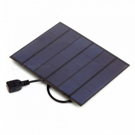 JEDX 3.5W 6V USB Output Monocrystalline Silicon Solar Panel Charger Mobile Phone Charger