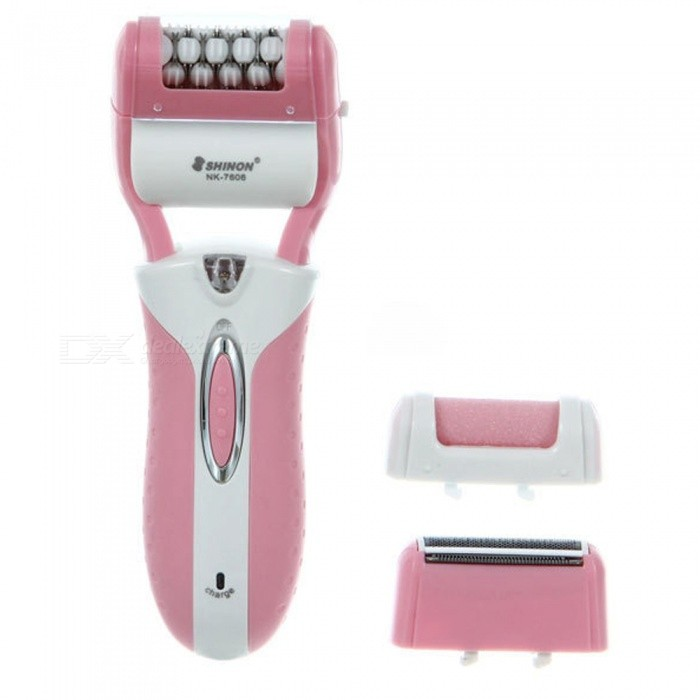 3-in-1 Rechargeable Multifunctional Women Shaver�� Electric Epilator Hair Removal Tool (EU Plug)