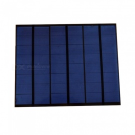 JEDX Polysilicon Solar Panel 3.5W 12V - Blue + Black