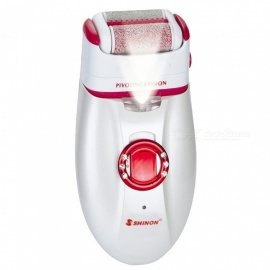 3-in-1 Rechargeable Multifunctional Women Shaver, Electric Epilator Hair Removal Tool (EU Plug)