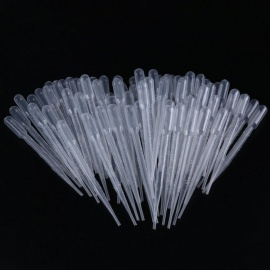 BTOOMET 3ml Capacity Transfer Pipettes Graduated Clear Plastic Droppers 100pcs