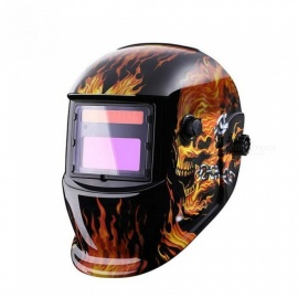 Skull Solar Auto Darkening MIG MMA Electric Welding Mask Helmet Welder Cap Welding Lens for Welding Machine MZ235