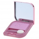 Cosmetic Make-Up Eye Shadow Kit with Mirror + Brush - Pink