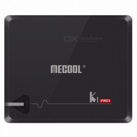 MECOOL KI PRO 2GB/16GB DVB-T2 DVB-S2 DVB-C Android 7.1 TV Box Amlogic S905D Dual WIFI HD Smart TV Box US Plug/Black
