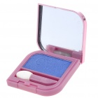 Cosmetic Make-Up Eye Shadow Kit with Mirror + Brush - Blue