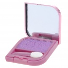 Cosmetic Make-Up Eye Shadow Kit with Mirror + Brush - Purple