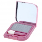 Cosmetic Make-Up Eye Shadow Kit with Mirror + Brush - Grey