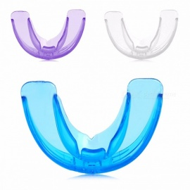 Tooth Orthodontic Appliance Trainer Alignment Dental Braces Mouthpieces Retainer Oral Care For Adults Blue