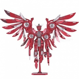 3D Metal Puzzle Toys P069 Thundering Wings Robot Figure DIY Puzzle 3D Models Brinquedos, Toy For Adults