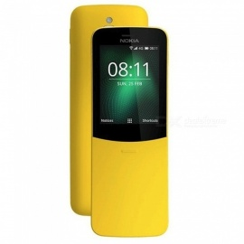 Nokia 8110 2.4 Inch ROM 4GB Screen 2.0MP Mobile Phone GSM Dual SIM - Yellow