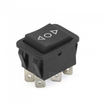 12V 30A DPDT ON-OFF-ON 3 Position 6 Pins Car Truck Vehicle Rocker Boat Switch