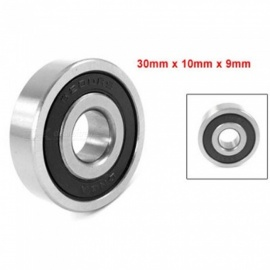 BOOMET 6200RS\2RS Roller-Skating Deep Groove Ball Bearing Black 5PCS