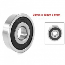 BTOOMET 6200RS/2RS Roller-Skating Deep Groove Ball Bearing - Black (10PCS)