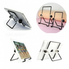 Metal Steel Multi-angle Non-slip Portable Foldable Adjustable Folding Stand Holder for iPad 2 3 4 Air Mini Tablet PC Small size