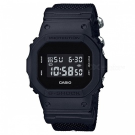 Casio G-Shock DW-5600BBN-1 Men's Digital Watch With Cloth Strap-Black