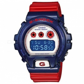 Casio G-Shock DW-6900AC-2 200m w/r Men's Digital Sports Watch-Red Blue White