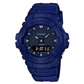 Casio G-Shock G-100CU-2A Analog Digital Watch-Blue