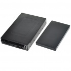 "3.5"" PC Chassis Front Panel USB 2.0 SATA HDD Case + Card Reader + e-SATA + 4-PIN Power Port"