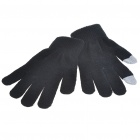 Universal Touch Screen Winter Gloves for Iphone/Ipad - Black