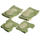Designer's Tactical Knee and Elbow Pads Set