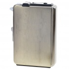 2-in-1 Cigarette Case with Butane Jet Torch Lighter  (Holds 8 Cigarettes)