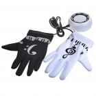 Novelty Electronic Piano Musical Instrument Gloves (4*AAA)