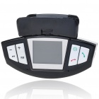 "Steering Wheel Mount 1.4"" LCD Bluetooth Caller ID Handsfree FM Transmitter with SD MP3 Player"