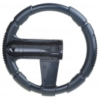 Plastic Steering Wheel for Sony PS3 Move Controller - Black