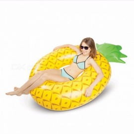 Giant Pineapple Float Swimming Ring Inflatable Pool Float For Child Adult Water Toys Funny Swimming Holiday Party Toys