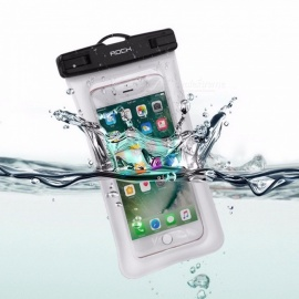 ROCK RST1016 Universal Waterproof Pouch Bag For IPHONE, Samsung, Xiaomi, Huawei Black