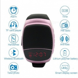B90 smart watch sport music player super bass wireless wristband chiamata bluetooth speaker chiamata radio FM