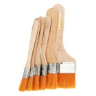 Assorted Wooden Paint Brush Set (6-Pack)