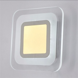 LED Wall Light 85-265V Living Room Bedroom Corridor Acrylic Ceiling Lamps Indoor Wall Lamp Modern Home Lighting White/6-10W/Nature White(3500-5500K)