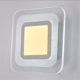 LED Wall Light 85-265V Living Room Bedroom Corridor Acrylic Ceiling Lamps Indoor Wall Lamp Modern Home Lighting White/6-10W/Warm White (2700-3500K)
