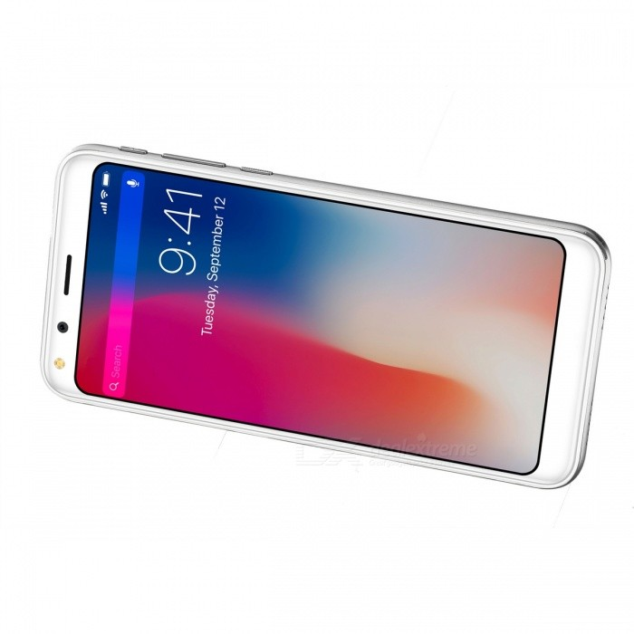 doogee   full screen android   phone  gb ram gb rom silver  shipping
