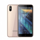 "DOOGEE X50 5.0"" Full Screen Android GO (Based on Android 8.1) 3G Phone w/ 1GB RAM, 8GB ROM - Gold"