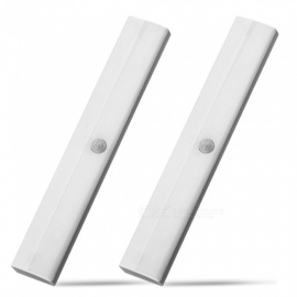 YouOKLight LED Cold White Wireless PIR Motion Sensor Light Portable Infrared Induction Night Lights for Cabinet Closet Use, 2Pcs