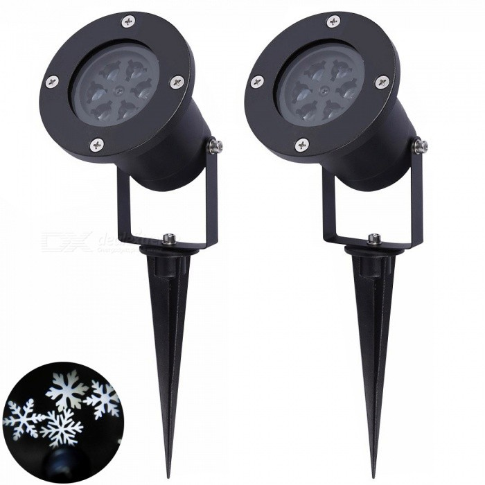 YouOKLight Christmas Snowflake Projector Lights Waterproof ccc6ddf2d6