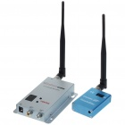 Ultra-Mini 1.2GHz Wireless Surveillance Audio/Video Camera w/ 12-CH Receiver (1-Camera Set)